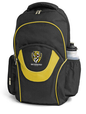 Richmond Tigers AFL Footy Fusion School Backpack Bag