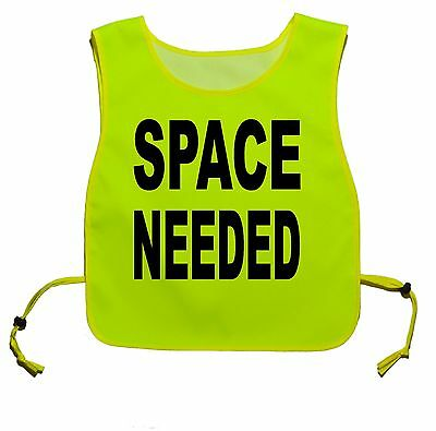 SPACE NEEDED flo Yellow Dog Walking Tabard. For dog Training that need space