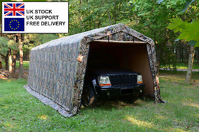 99007 Horse/Hay/Machinery/Vehicle Shed Portable Farm Equip Storage 10'x20'x8'