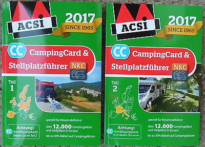 acsi campingf hrer europa 2017 incl campingcard camping. Black Bedroom Furniture Sets. Home Design Ideas