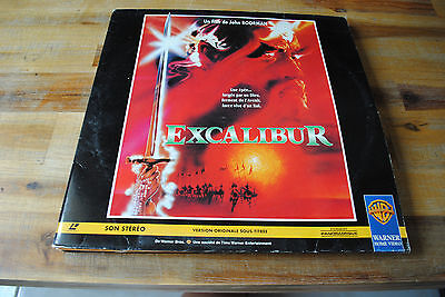 Film Laserdisc LD EXCALIBUR version FR PAL