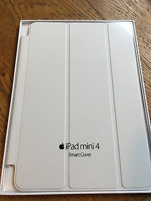 iPad Mini 4 Smart Cover - White (MKLW2ZM/A) Apple Factory Sealed!
