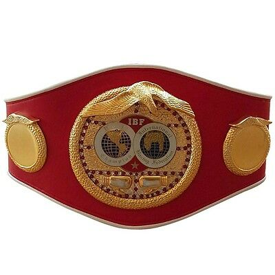IBF World Championship Replica Boxing Belt International Boxing Federation Adult