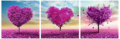 HD Canvas Print home decor wall art painting Picture-LOVE 3PC Unframed #070