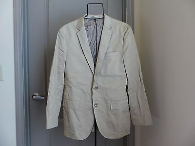 624fa43d9967 J.Crew Ludlow suit jacket with double vent in Italian chino Size 40R stone