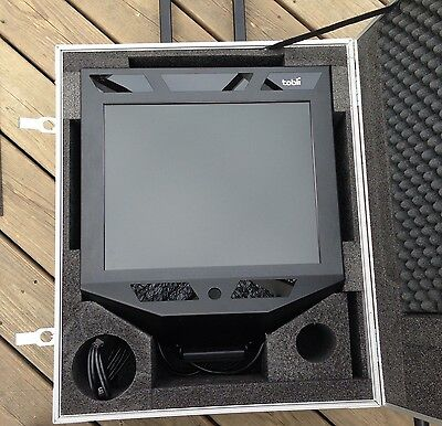 Tobii 1750 Eye Tracker With Case As Pictured