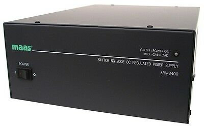 MAAS SPA 8400 40 - 45 AMP PSU POWER SUPPLY DC POWER LOW NOISE CB Ham Radio