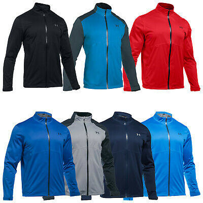 Under Armour Mens Waterproof Storm Rain Jacket New Golf Full Zip Zipped Coat Top