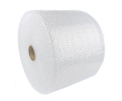 "1/2"" x 125' x 24"" Large Bubble Cushioning Wrap Padding Roll 125 FT Perforated 12"