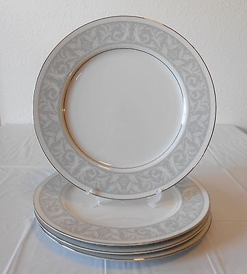 4 Imperial China Whitney 5671 Dinner Plates 10 1/4""