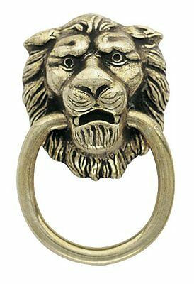 Amerock Traditional Classics Lion Head Ring Pulls - Antiqued Brass