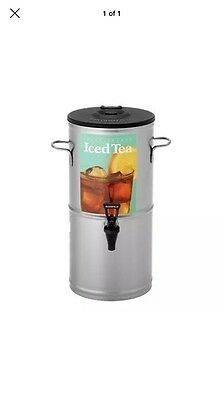 Bloomfield 8802-5G Iced Tea Dispenser with Handles, 5-Gallon, Stainless St..NEW=