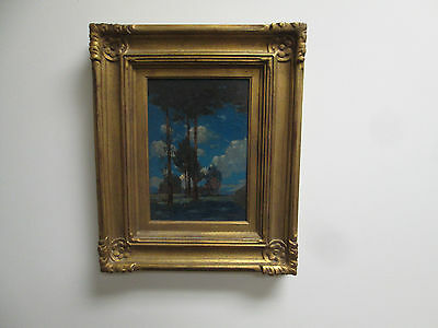 """""""The Pines"""" Gustave Cimiotti  , Artist Exhibited works  at 1913 Armory Show"""