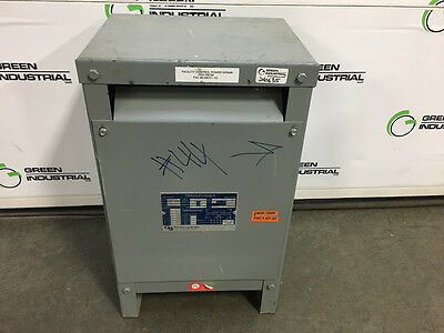 TESTED 15 KVA Single Phase Dry Type Transformer HV 240 x 480 LV 120/240 S5H15