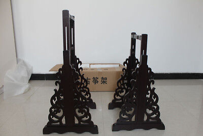 Solid Wood Guzheng Height Adjustable Stands -- 2017新款古箏通用可升降立式支架