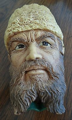 Bossons England Character Wall Hanging Chalkware Head Cossack
