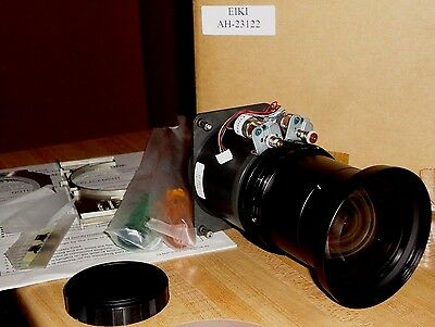 EIKI AH-23122 Short Throw Projector Lens NEW! LC-X80 X70 X60 X50 X1100 X1000 NEW