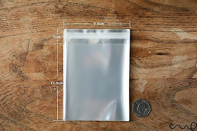 Clear Cellophane OPP Plastic Bag Self Adhesive Display Peel & Seal Approx.9x14cm