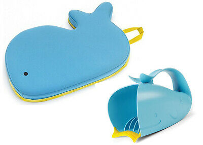 Skip HopMoby Bath Kneeler and Waterfall Bath Rinser