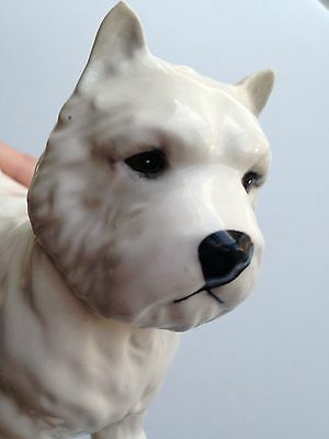 Vintage.BESWICK oval mark ENGLAND West Highland White Terrier DOG PORCELAIN