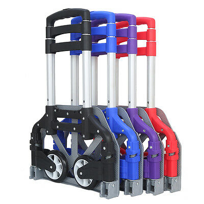 170lbs Folding Dolly Cart Push Hand Truck Moving Warehouse Platform Trolley Gift