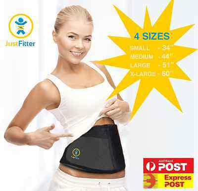 Thermo Sweat Exercise Trainer Cincher Yoga Belt Hot Neoprene Body Shaper Toner