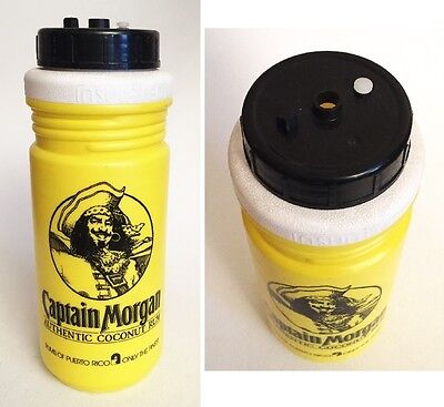 Unique Captain Morgan Rum Plastic Drink Bottle Advertising Promotional Souvenir
