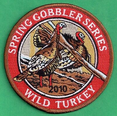 "Pa Pennsylvania Game Fish Commission 2010 Spring Gobbler Turkey Series 4"" Patch"