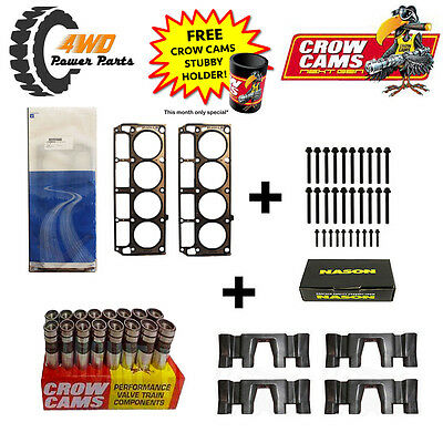 LS1 Head Gaskets and Bolts (2 Length) + Roller Lifter & Guide Kit + FREE GIFT