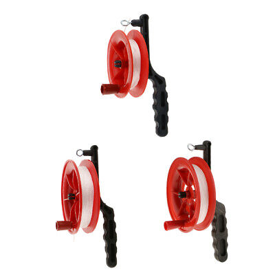 Red Fire Kite Tool Grip Reel Winder Wheel Handle W/ Twisted String YOUR CHOICE