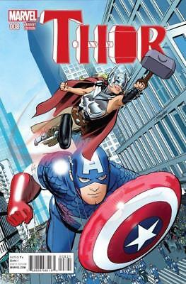 Thor #8 (Vol 4) NYC Variant Cover by Mike Mayhew.