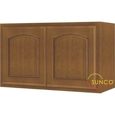 Kitchen Cabinet Oak 2-Dr 30x18