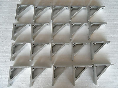 Lot Of 20 Aluminum Angle Corner Bracket T Slot Extrusion 3D Printer Frame German