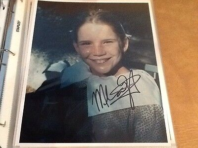 Melissa Gilbert Little House On The Prairie Authentic Autographed Photo