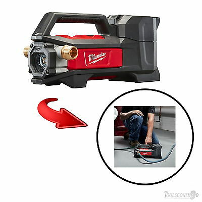 Milwaukee M18Tp-0 18V Lithium-Ion Cordless Transfer Water Pump Skin Only