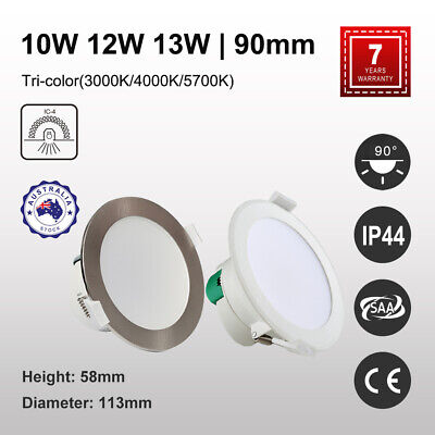 10W 12W 16W Ip44 Non-Dim Dimmable Led Downlights Kit Ceiling Warm/daylight White