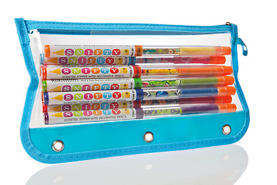 Scented Pencil Set in Pouch Snifty HB pencils