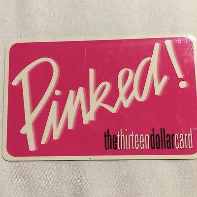 Mary Kay Thirteen Dollar Gift Cards - Nonloadable Cards-Business Tool