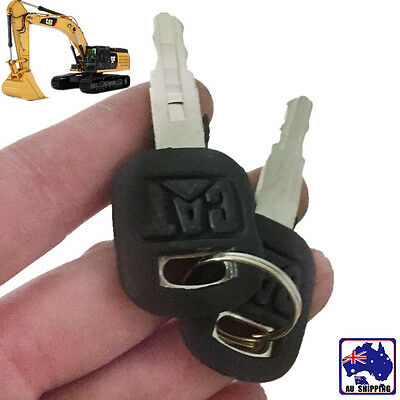4pcs Old Ignition Keys Fits Cat Caterpillar Loader Dozer 5P8500 VKEY49922x4
