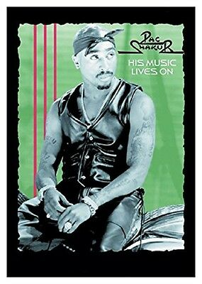 2PAC Tupac His music lives on Textile Poster Flag