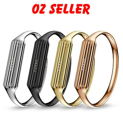 Luxury Stainless Steel Metal Bracelet Bangle Band For Fitbit Flex 2 Tracker