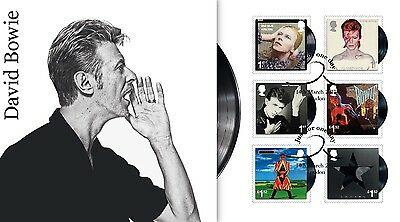 David Bowie Official First Day Cover Limited to 50- Last Few Remaining!