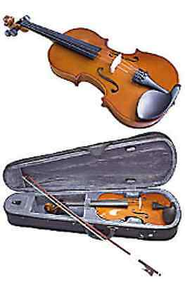VALENCIA - 1/2 size violin outfit. Traditional chestnut.