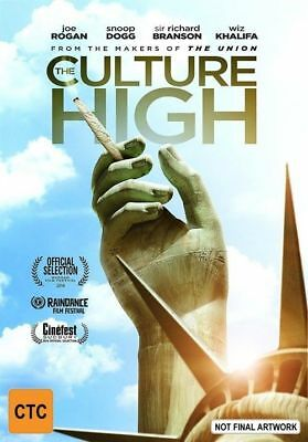The Culture High (DVD, 2015) Brand New, Genuine & Sealed  - Free Postage D44