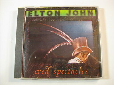 Elton John Red Spectacles original factory-pressed CD live #BUC007