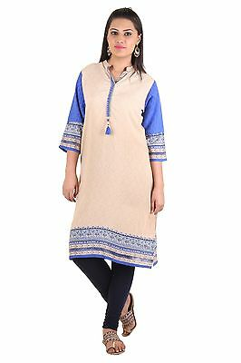 New Indian Bollywood Kurta Kurti Designer Women Ethnic Dress Top Tunic Pakistani