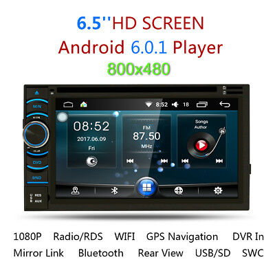 6.2'' 2Din Android Quad Core DVD GPS Navigation Audio Car Player WIFI Bluetooth