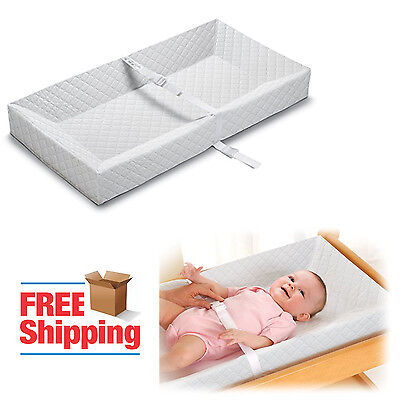 Baby Infant Changing Table Pad Diaper Dresser Travel Portable Nursery Safety Mat