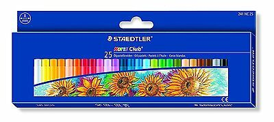 Staedtler 241 NC25 - Noris Oil Pastels Pack of 25 Assorted Colours