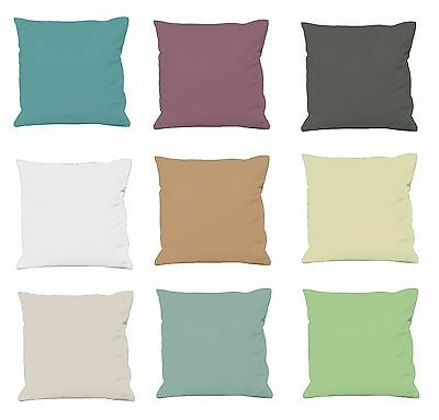 "Brand New Light Colour Cushion Cover In 100% Pure Cotton Fabric 16"" X 16"""